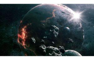 Фотообои Поверхность планеты