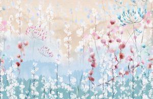 Фотообои Легкие полевые цветы