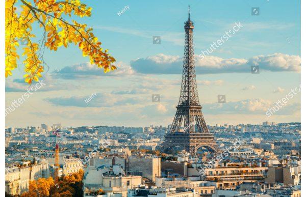 Фотообои Вид на Париж