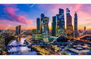 Фотообои Москва-Сити
