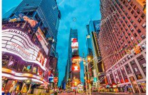 Фотообои Таймс-сквер Нью-Йорк