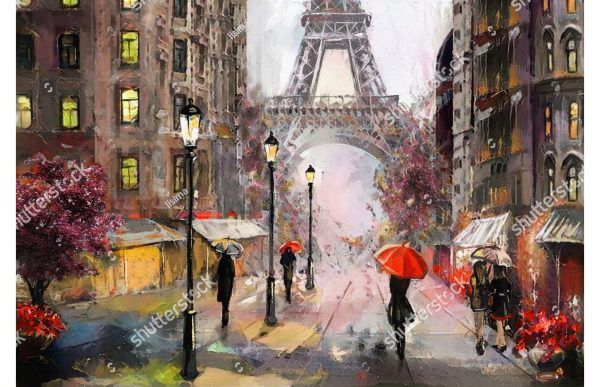 Фотообои Прогулка по Парижу