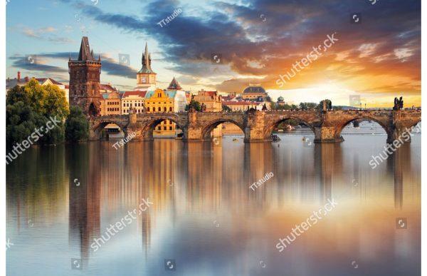 Фотообои Карлов мост. Прага