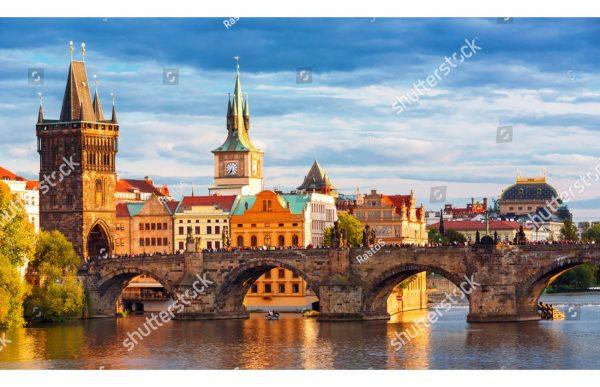 Фотообои Карлов мост. Чехия