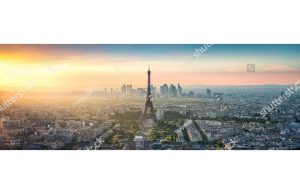 Фотообои Вид сверху - панорама Парижа
