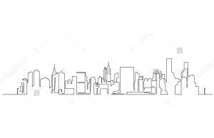 Фотообои Векторная панорама
