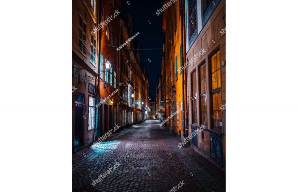 Фотообои Тёмный переулок