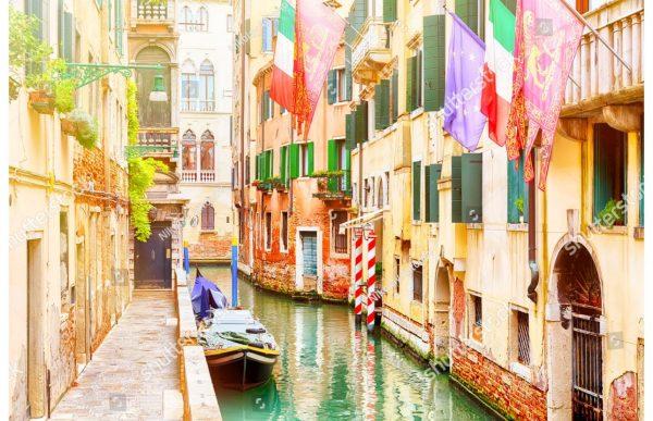 Фотообои Городской канал