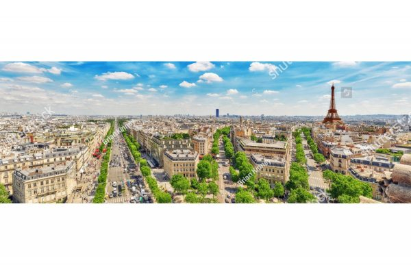 Фотообои Парижская панорама