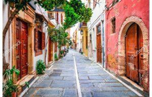 Фотообои Греческая улочка