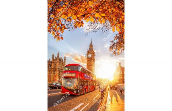 Фотообои Лондон осенью