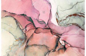 Фотообои Мраморная роза