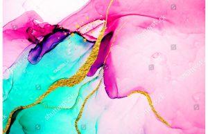 Фотообои Витражные краски