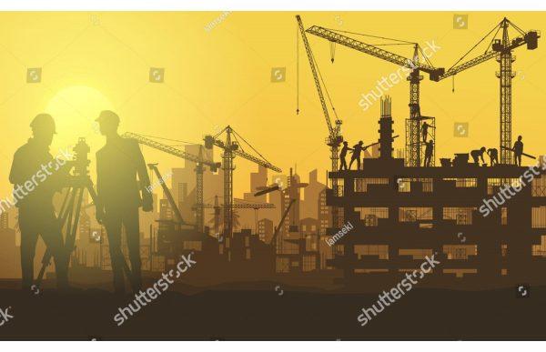 Фотообои Масштабное строительство