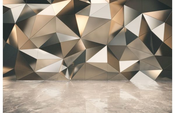 Фотообои Бежевая геометрия