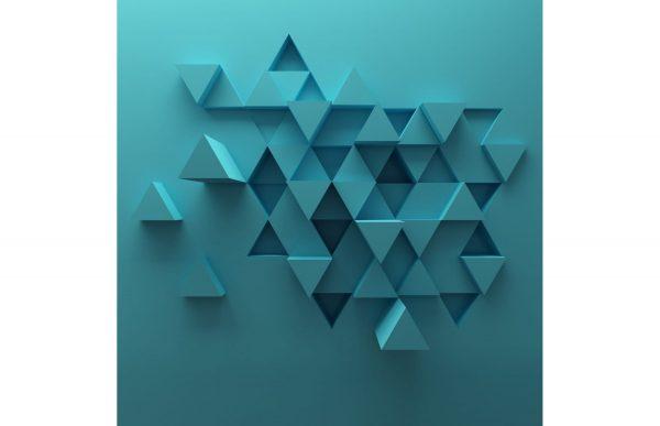 Фотообои Треугольная абстракция