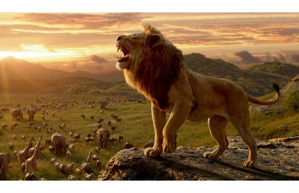 Фотообои Лев - царь зверей