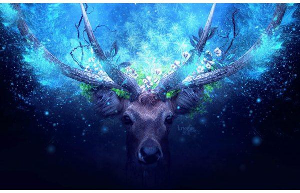 Фотообои Сказочный олень