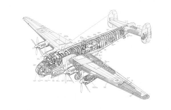 Фотообои Детализация самолета